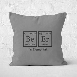 Be Er It's Elemental Square Cushion