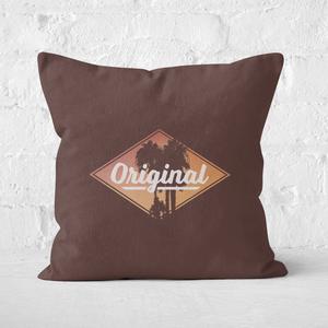 Original Palm Trees Square Cushion