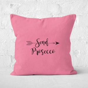 Send Prosecco Square Cushion
