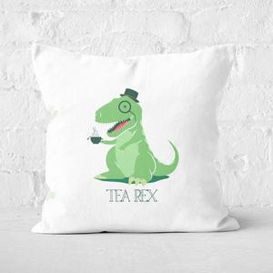 Tea Rex Square Cushion