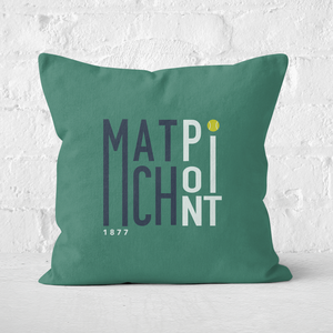 Match Point Square Cushion