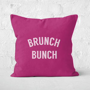 Brunch Bunch Square Cushion