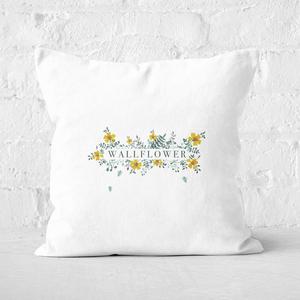 Wallflower Square Cushion