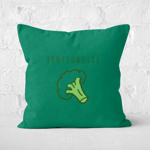 Broccoholic Square Cushion