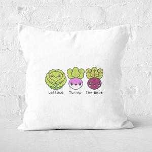 Turnip The Beet Square Cushion