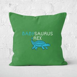 Babysaurus Rex Square Cushion