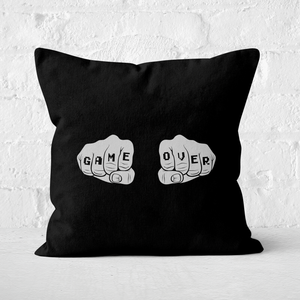 Game Over Square Cushion