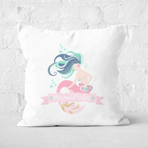 Mermaid Vibes Square Cushion