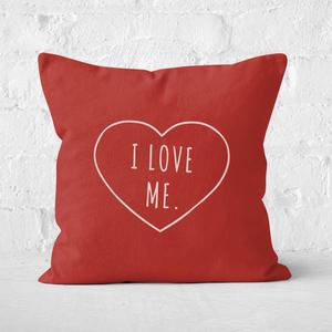 I Love Me Square Cushion