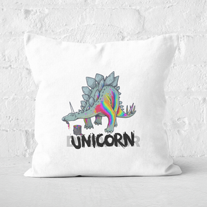 DinoUnicorn Square Cushion