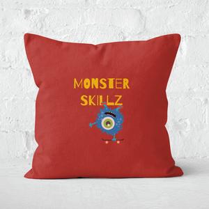 Monster Skillz Square Cushion