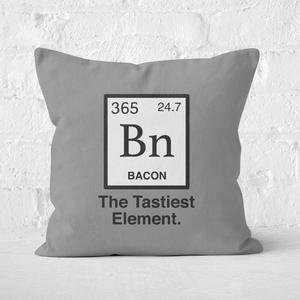 Bacon Element Square Cushion