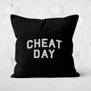 Cheat Day Square Cushion