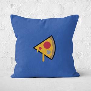 Pizza Slice Square Cushion
