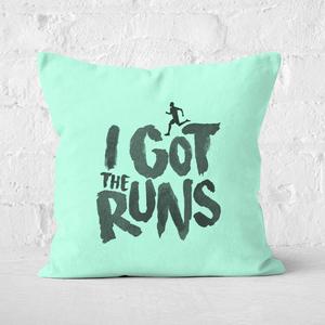 I Got The Runs Square Cushion