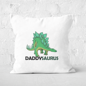 Daddysaurus Square Cushion
