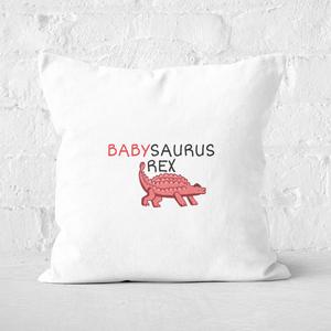 Babysaurus Square Cushion