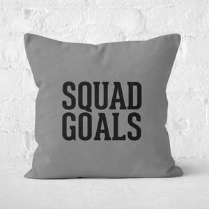 Squad Goals Square Cushion