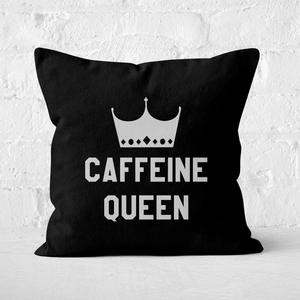 Caffeine Queen Square Cushion