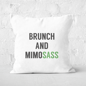 Brunch And Mimosass Square Cushion
