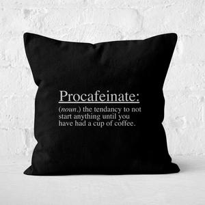 Procafeinate Square Cushion