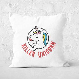 Killer Unicorn Square Cushion