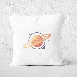 Saturn Square Cushion
