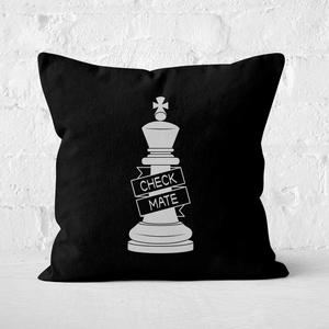 King Chess Piece Square Cushion