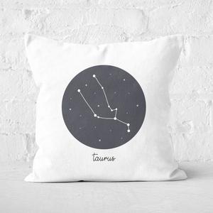 Taurus Square Cushion