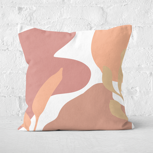 Pressed Flowers Abstract Scenes Square Cushion