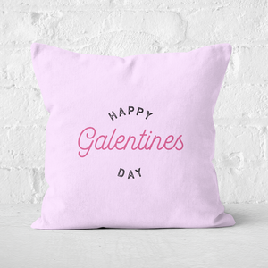 Happy Galentine's Day Square Cushion