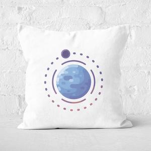 Planet Earth Square Cushion