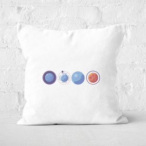 Planets Square Cushion