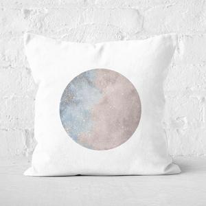 Colourful Moon Square Cushion
