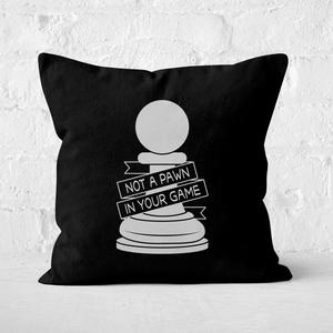 Pawn Chess Piece Square Cushion