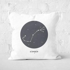 Scorpio Square Cushion