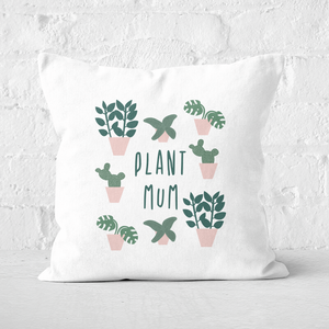 Plant Mum Square Cushion