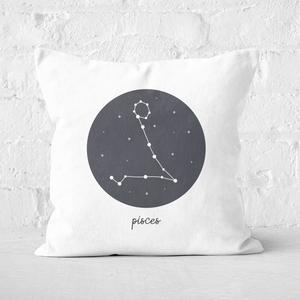 Pisces Square Cushion