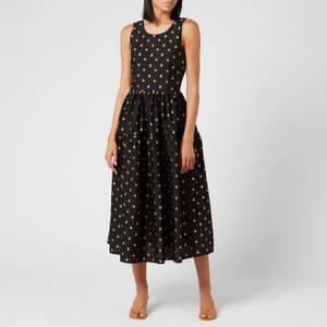 Stine Goya Women's Tulula Long Print Dress - Jasmine Ochre