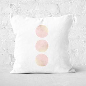 Three Moons Square Cushion