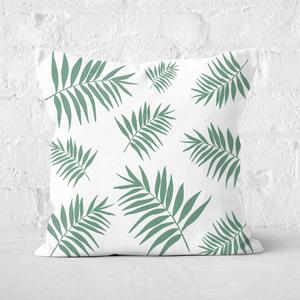 Earth Friendly Leaves Square Cushion
