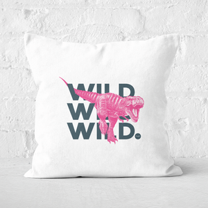 Wild Dinosaur Square Cushion