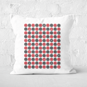 Checkers Pattern Square Cushion