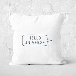 Hello Universe Square Cushion