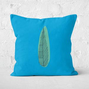 Earth Friendly Leaf Square Cushion