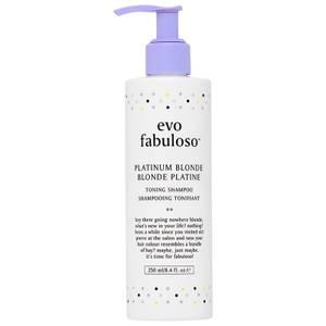 evo Fabuloso Platinum Blonde Toning Shampoo 250ml