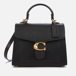 教练女士平纹手提包20-黑色