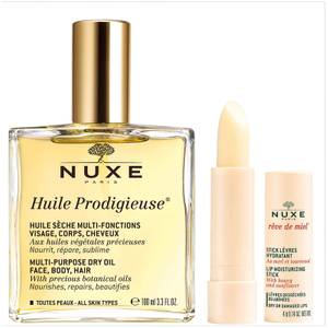 NUXE Huile Prodigieuse Oil and Lip Stick Duo