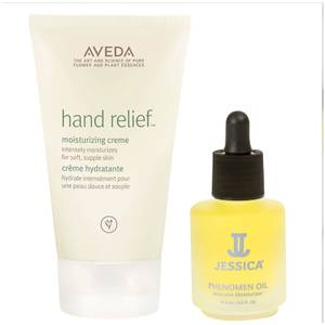 Aveda Hand Relief and Jessica Phenomen Oil Duo (Worth £35.10)