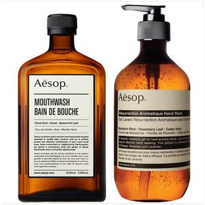 Aesop Hand Wash and Mouthwash Duo